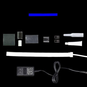 Environmental Lights Blue LED Neon, with White Finish, Sample Kit from OnSetLighting.com
