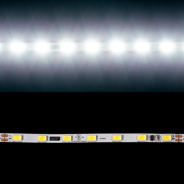 Environmental Lights Neutral White 5630 Single Row CurrentControl LED Strip Light, 70/m, 5.1mm wide, by the 2m Reel from OnSetLighting.com