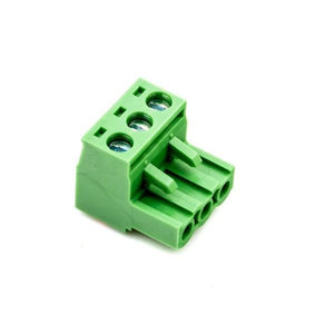 MALE/FEMALE PHOENIX-STYLE TERMINAL BLOCK CONNECTOR SET (3 PINS) from Environmental Lights and OnSetLighting.com