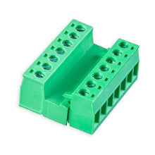 Load image into Gallery viewer, MALE/FEMALE PHOENIX-STYLE TERMINAL BLOCK CONNECTOR SET (7 PINS) from Environmental Lights and OnSetLighting.com