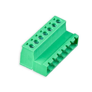 MALE/FEMALE PHOENIX-STYLE TERMINAL BLOCK CONNECTOR SET (7 PINS) from Environmental Lights and OnSetLighting.com