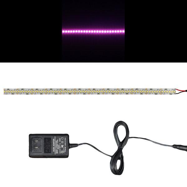 Environmental Lights Pink 3528 Single Row LED Strip Light, 240/m, 10mm wide, Sample Kit from OnSetLighting.com
