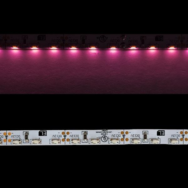 Environmental Lights Pink 3014 Side View LED Strip Light, 96/m, 8mm wide, by the 5m Reel from OnSetLighting.com