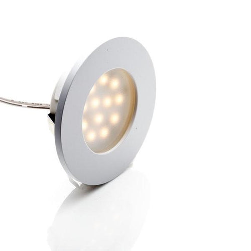 Environmental Lights LED Puck Light, White Finish, 3000K from OnSetLighting.com