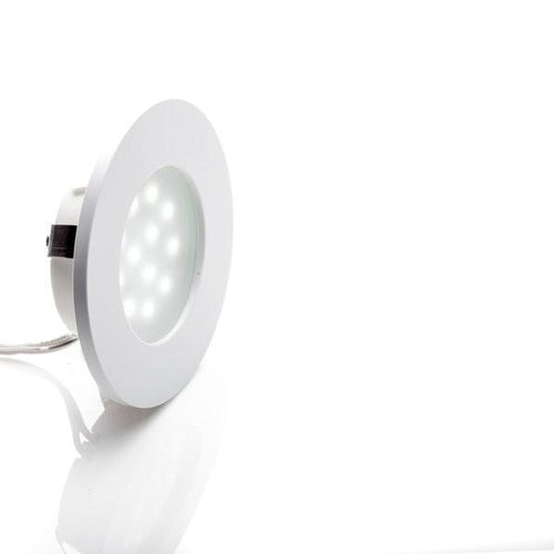 Environmental Lights LED Puck Light, White Finish, 6500K from OnSetLighting.com