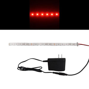 Environmental Lights Red 5050 Single Row CurrentControl LED Strip Light, 60/m, 12mm wide, Sample Kit from OnSetLighting.com