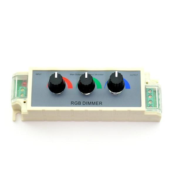 Environmental Lights RGB LED Dimmer (3 channel) - 12 or 24 VDC from OnSetLighting.com