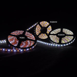 Environmental Lights RGBWW 5050 ColorPlus LED Strip Light, 60/m, 12mm wide, Sample Kit from OnSetLighting.com