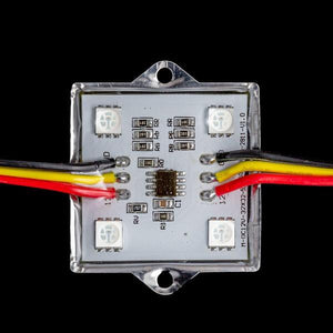 Environmental Lights RGB PixelControl Square Module - 40mm - 12V - String of 20 from OnSetLighting.com