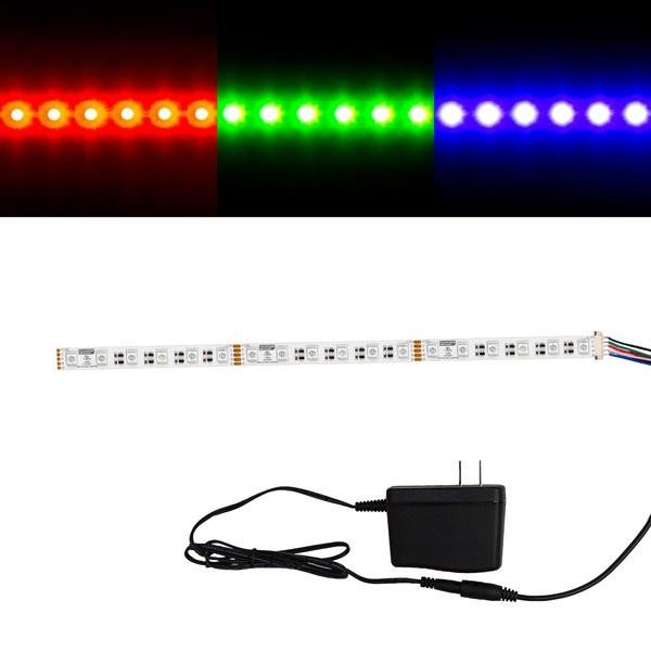 Environmental Lights MaxRun RGBA 4-in-1 5050 LED Strip Light - 60/m - Sample Kit from OnSetLighting.com