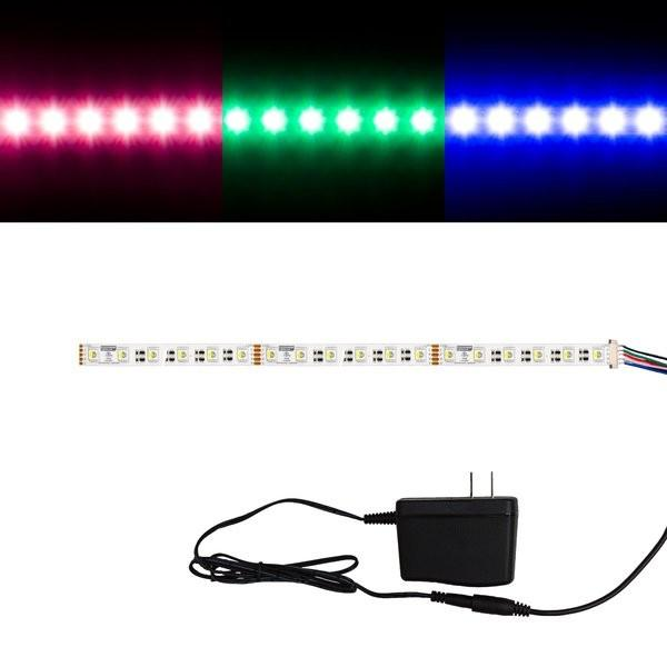 Environmental Lights RGBDW 4-in-1 5050 CurrentControl LED Strip Light, 60/m, 12mm wide, Sample Kit from OnSetLighting.com