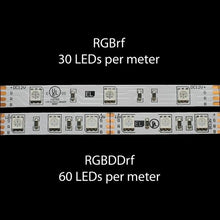 Load image into Gallery viewer, Environmental Lights RGB 5050 LED Strip Light, 60/m, 10mm wide, by the 5m Reel from OnSetLighting.com