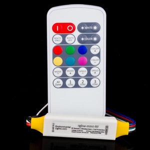 Environmental Lights Mini IP68 Multi-Zone LED Controller with RF Remote, RGBW from OnSetLighting.com