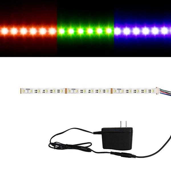 Environmental Lights RGBWW 4-in-1 5050 CurrentControl LED Strip Light, 60/m, 12mm wide, Sample Kit from OnSetLighting.com