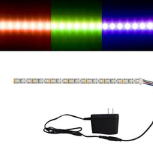 Load image into Gallery viewer, Environmental Lights RGBWW 4-in-1 5050 CurrentControl LED Strip Light, 72/m, 12mm wide, Sample Kit from OnSetLighting.com