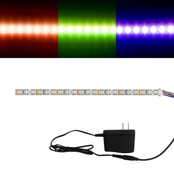 Environmental Lights RGBWW 4-in-1 5050 CurrentControl LED Strip Light, 72/m, 12mm wide, Sample Kit from OnSetLighting.com