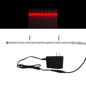 Environmental Lights Red 3014 Side View LED Strip Light, 96/m, 8mm wide, Sample Kit from OnSetLighting.com
