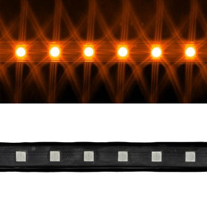 Environmental Lights Orange 5050 LED Super Flat Rope, 60/m, with Black Finish, by the 20m Reel from OnSetLighting.com