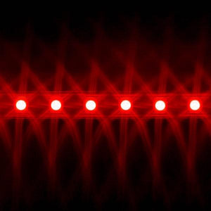 Environmental Lights Red 5050 LED Super Flat Rope, 60/m, with Black Finish, by the 20m Reel from OnSetLighting.com