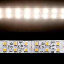 Load image into Gallery viewer, Environmental Lights Soft White 5050 Double Row CurrentControl LED Strip Light, 120/m, 20mm wide, by the 5m Reel from OnSetLighting.com
