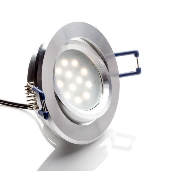 Environmental Lights LED Swivel Puck Light, Silver Finish, 4000K from OnSetLighting.com