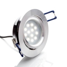 Load image into Gallery viewer, Environmental Lights LED Swivel Puck Light, Silver Finish, 5600K from OnSetLighting.com