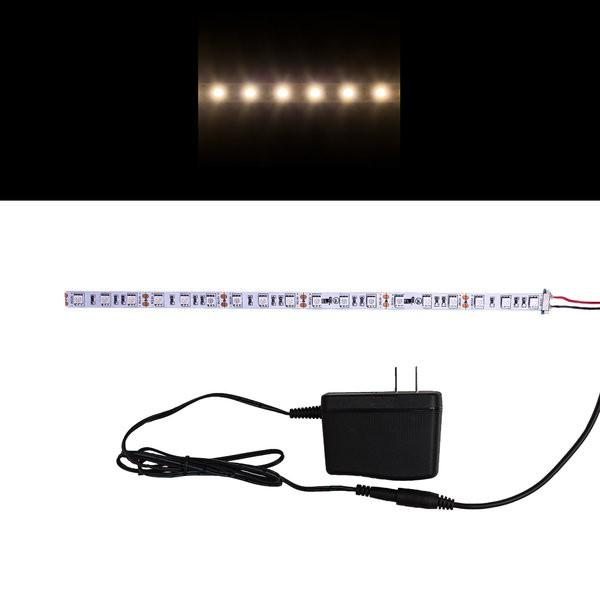 Environmental Lights Soft White 5050 LED Strip Light, 60/m, 10mm wide, Sample Kit from OnSetLighting.com