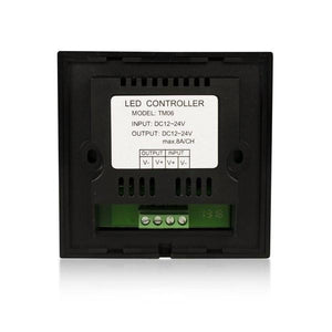 Environmental Lights Touch Panel LED Dimmer (Wall Mount - Black) from OnSetLighting.com