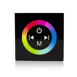 Environmental Lights Touch Panel RGB LED Controller (Wall Mount - Black) from OnSetLighting.com