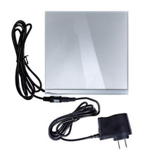 "Load image into Gallery viewer, Environmental Lights Ultra Thin LED Light Panel 6.5""x6.5"", Neutral White Sample Kit from OnSetLighting.com"