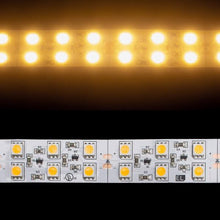 Load image into Gallery viewer, Environmental Lights Very Warm White 5050 Double Row CurrentControl LED Strip Light, 120/m, 20mm wide, by the 5m Reel from OnSetLighting.com