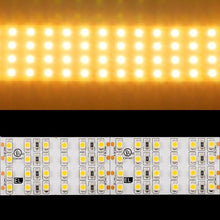 Load image into Gallery viewer, Environmental Lights Very Warm White 3528 Quad Row LED Strip Light, 450/m, 28mm wide, by the 3.2m Reel from OnSetLighting.com