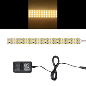 Environmental Lights Very Warm White 3528 Quad Row LED Strip Light, 450/m, 28mm wide, Sample Kit from OnSetLighting.com