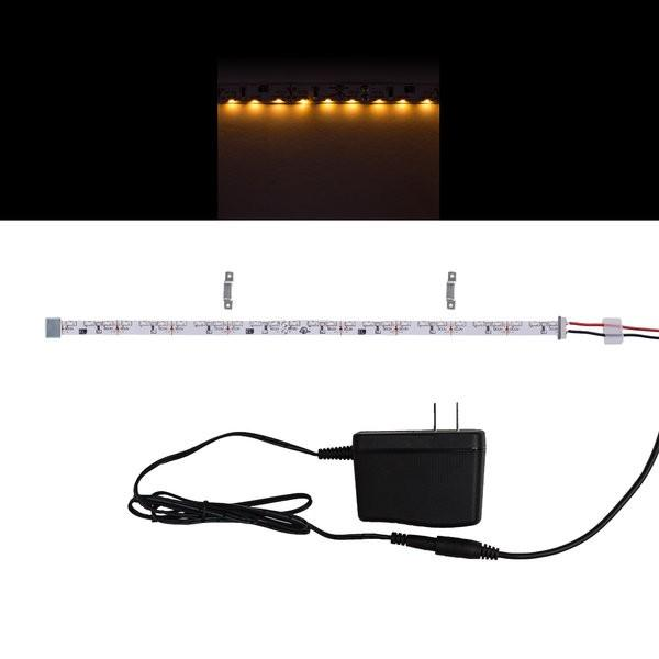 Environmental Lights Very Warm White 3014 Side View LED Strip Light, 96/m, 8mm wide, Sample Kit from OnSetLighting.com