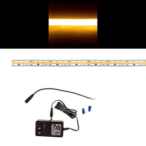 Environmental Lights Waterproof Continuous LED Strip Light - 2,700K - Sample Kit from OnSetLighting.com