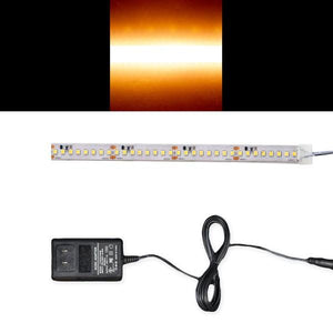 Environmental Lights Waterproof High Efficacy 2835 LED Strip Light - 3,000K - 160/m - CurrentControl - Sample Kit from OnSetLighting.com