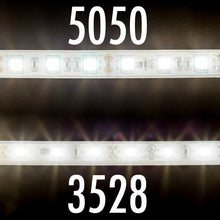 Load image into Gallery viewer, Environmental Lights Waterproof Soft White 5050 LED Strip Light, 60/m, 10mm wide, by the 5m Reel from OnSetLighting.com