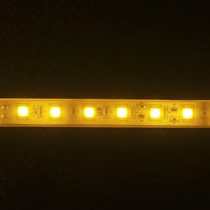 Environmental Lights Waterproof Amber 5050 Single Row CurrentControl LED Strip Light, 60/m, 12mm wide, by the 6m Reel from OnSetLighting.com