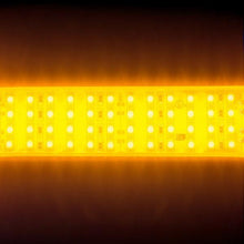 Load image into Gallery viewer, Environmental Lights Waterproof Amber 3528 Quad Row LED Strip Light, 450/m, 28mm wide, by the 3.2m Reel from OnSetLighting.com