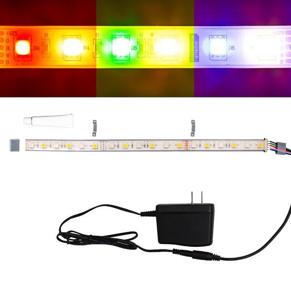 Environmental Lights Waterproof RGBDW 5050 ColorPlus LED Strip Light, 60/m, 12mm wide, Sample Kit from OnSetLighting.com