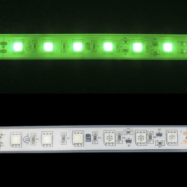Environmental Lights Waterproof Green 5050 Single Row CurrentControl LED Strip Light, 60/m, 12mm wide, Sample Kit from OnSetLighting.com
