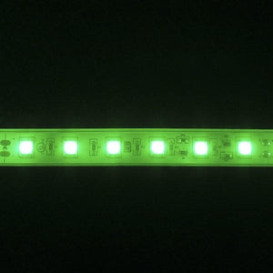 Environmental Lights Waterproof Green 5050 Single Row CurrentControl LED Strip Light, 60/m, 12mm wide, by the 6m Reel from OnSetLighting.com