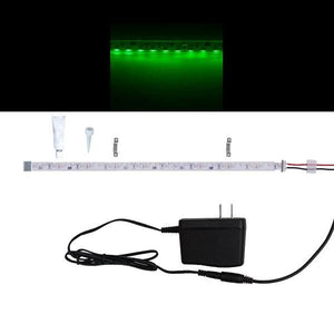 Environmental Lights Waterproof Green 3014 Side View LED Strip Light, 96/m, 8mm wide, Sample Kit from OnSetLighting.com