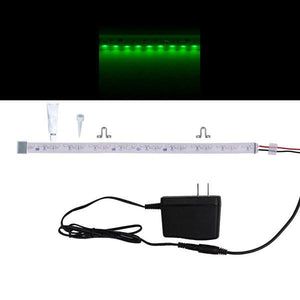 Environmental Lights Waterproof Side Mount Green 3014 Side View LED Strip Light, 96/m, 8mm wide, Sample Kit from OnSetLighting.com