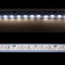 Load image into Gallery viewer, Environmental Lights Waterproof Side Mount Neutral White 3014 Side View LED Strip Light, 96/m, 8mm wide, by the 5m Reel from OnSetLighting.com