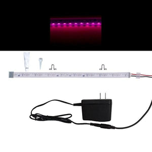 Environmental Lights Waterproof Side Mount Pink 3014 Side View LED Strip Light, 96/m, 8mm wide, Sample Kit from OnSetLighting.com