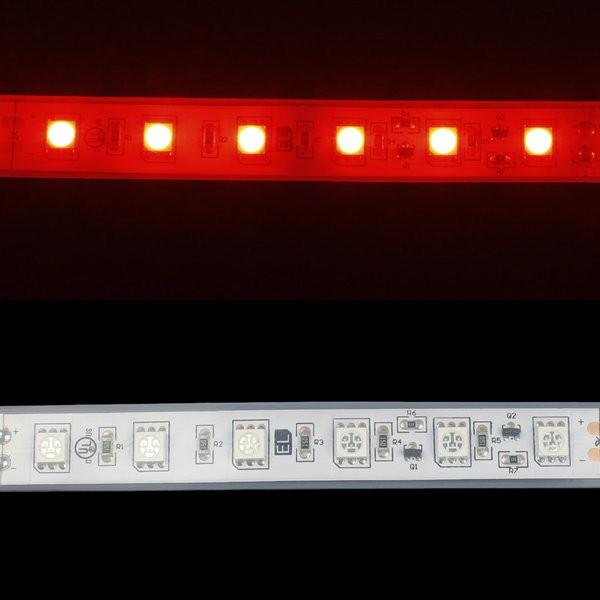 Environmental Lights Waterproof Red 5050 Single Row CurrentControl LED Strip Light, 60/m, 12mm wide, by the 6m Reel from OnSetLighting.com