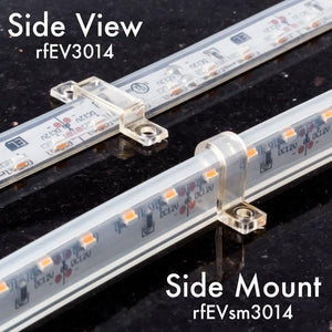 Environmental Lights Waterproof Side Mount Black Light UV 3014 Side View LED Strip Light, 96/m, 8mm wide, by the 5m Reel from OnSetLighting.com