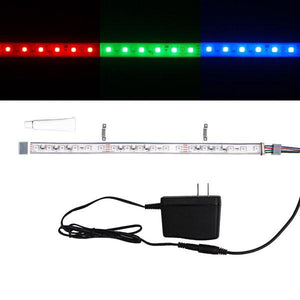 Environmental Lights Waterproof RGB 5050 Single Row CurrentControl LED Strip Light, 60/m, 12mm wide, Sample Kit from OnSetLighting.com