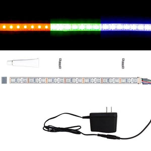Environmental Lights Waterproof RGBA 4-in-1 5050 CurrentControl LED Strip Light, 72/m, 12mm wide, Sample Kit from OnSetLighting.com